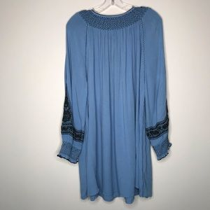 Free People Dresses - Free People Wind Willow Embroidered Mini Dress - M